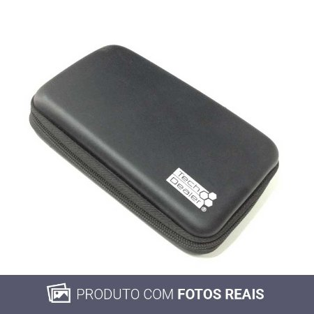 Case Tech Dealer Preta - 3DS
