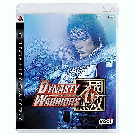 Jogo Dynasty Warriors 6 - PS3