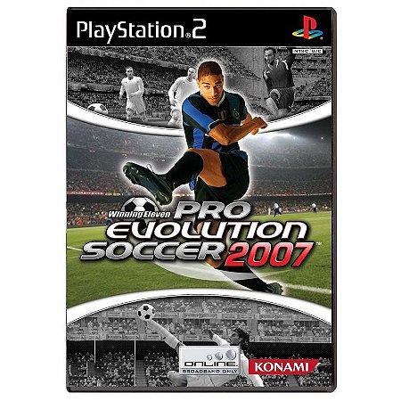 Jogo Pro Evolution Soccer 2007 - PS2