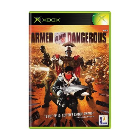 Jogo Armed and Dangerous - Xbox