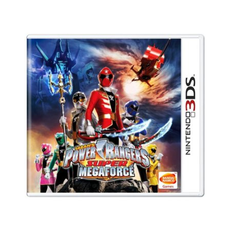Jogo Power Rangers Super Megaforce - 3DS