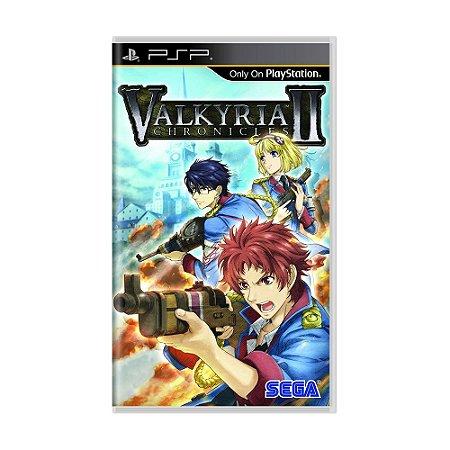 Jogo Valkyria Chronicles II - PSP