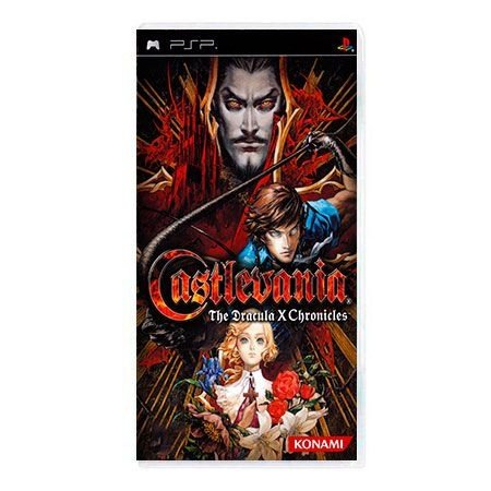 Jogo Castlevania The Dracula X Chronicles - PSP