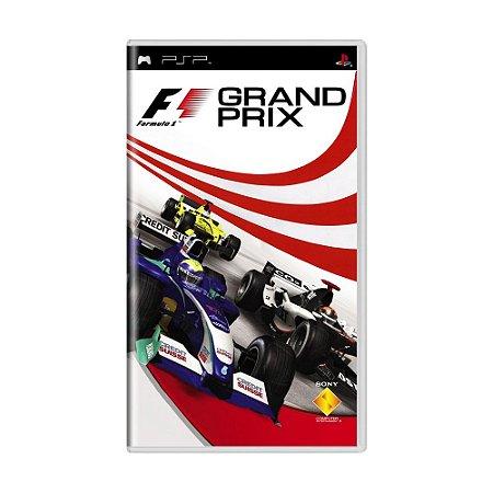 Jogo F1 Grand Prix - PSP