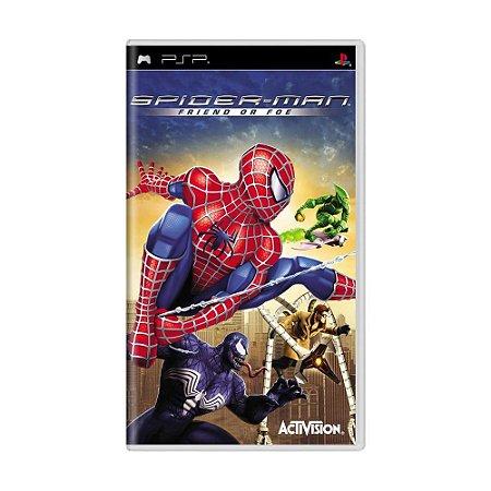 Jogo Spider-Man: Friend or Foe - PSP