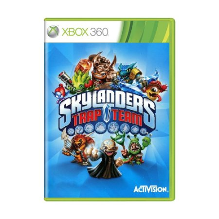 Jogo Skylanders Trap Team - Xbox 360