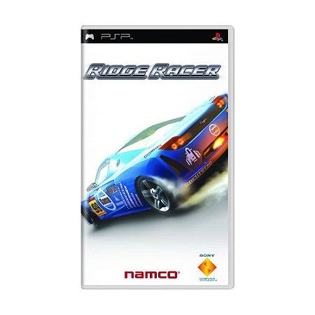 Jogo Ridge Racer - PSP