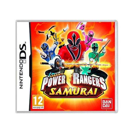 Jogo Power Rangers Samurai - DS (Europeu)