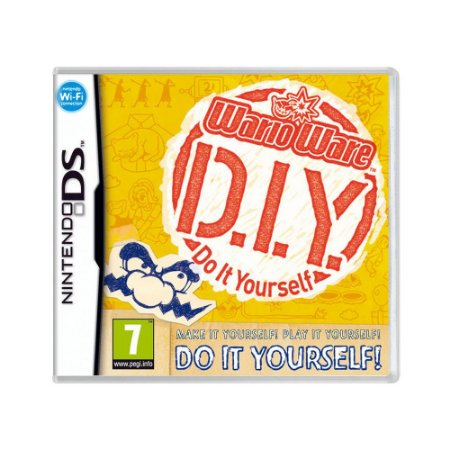 Jogo WarioWare D.I.Y. - DS (Europeu)