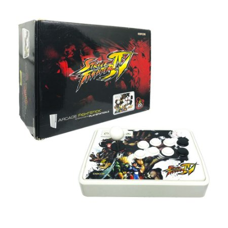 Controle Arcade FightStick Mad Catz Super Street Fighter IV - PS3