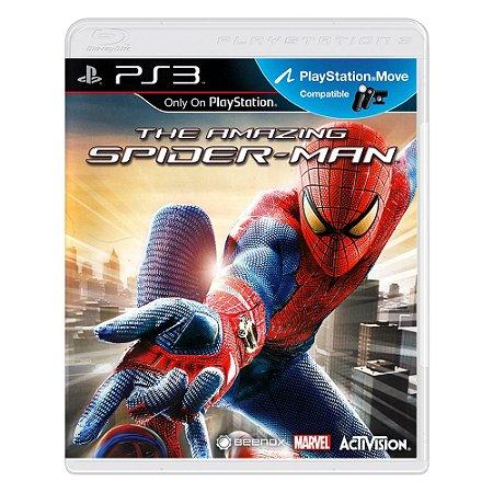 Jogo The Amazing Spider-Man - PS3
