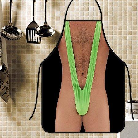 Avental Personalizado Com Estampa Cômica Borat