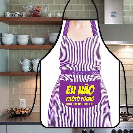 Avental Personalizado Com Estampa Cômica Fogão