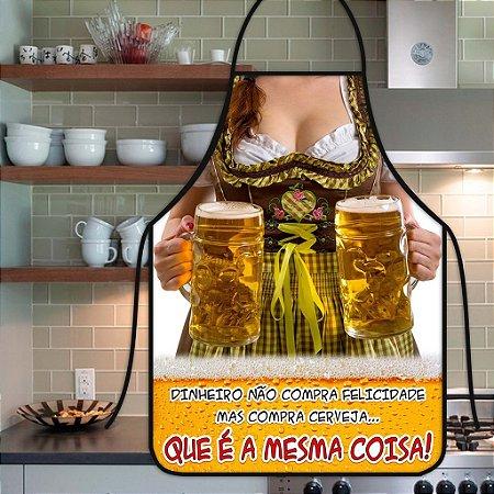 Avental Personalizado Com Estampa Cômica Mulher Cerveja
