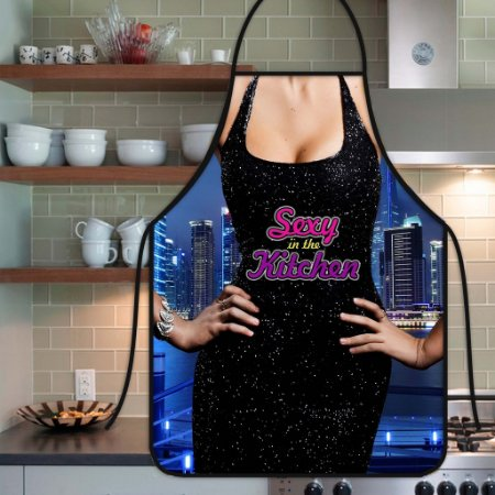 Avental Personalizado Com Estampa Cômica Sexy