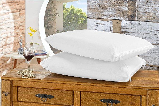 Kit 20 Capas Para Travesseiro Impermeável Com Zíper Bia