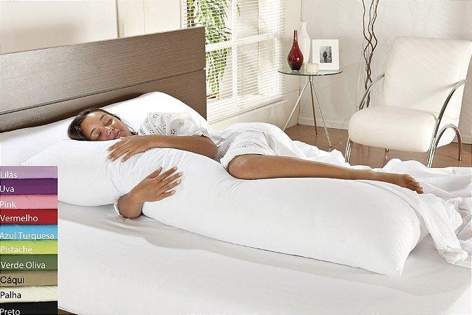 Travesseiro De Corpo Mega Xuxão Com Fronha
