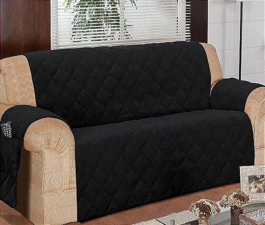 Protetor Para Sofá De 03 Lugares Com Assento De 1,40m Matelado Microfibra Lú