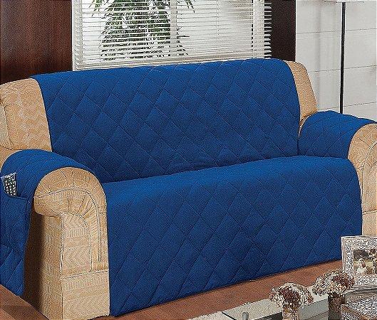 Protetor Para Sofá De 03 Lugares Com Assento De 1,60m Matelado Microfibra Lú