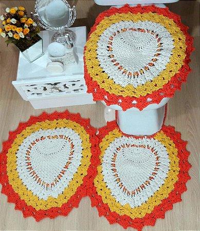 Kit de Banheiro Multicolor