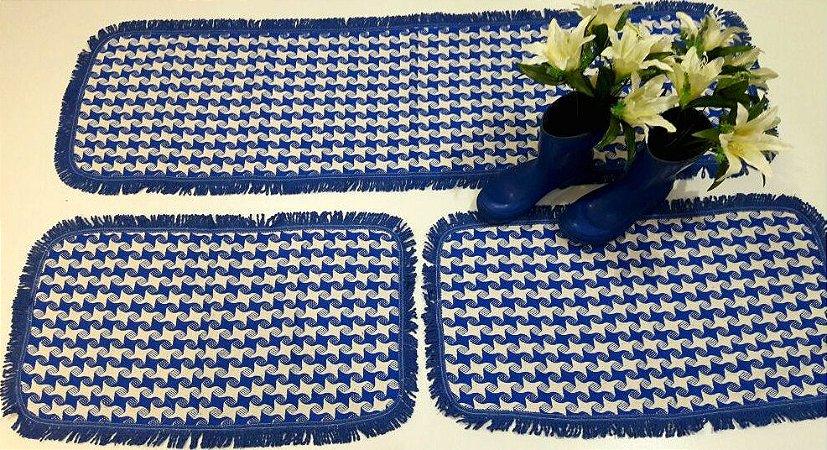 Kit de Passadeira Rubi azul