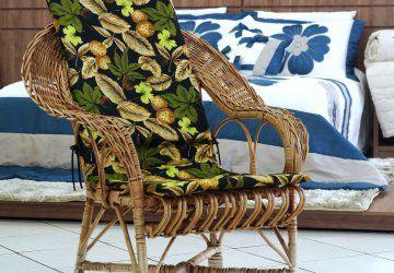 Assento de Cadeira Varanda Caxi Preto