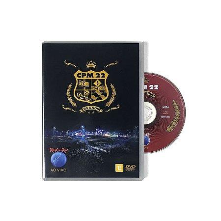 """CPM 22 """"Ao Vivo no Rock in Rio"""" DVD"""