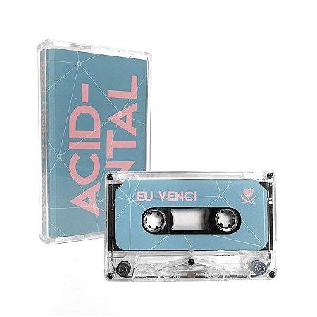 "Acidental ""Eu Venci/Teste"" Cassete Translúcido"