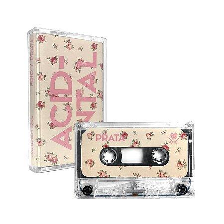 """Acidental """"Frio/Prata"""" Cassete Translúcido"""