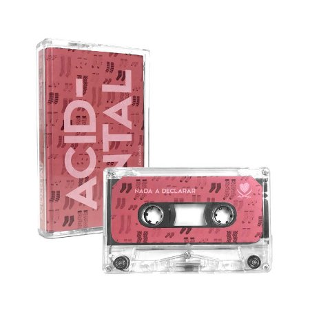 "Acidental ""Surpresa/Nada A Declarar"" Cassete Translúcido"