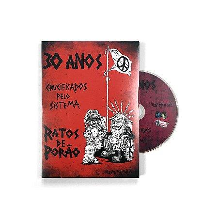 """Ratos de Porão """"30 Anos Crucificados Pelo Sistema"""" DVD"""