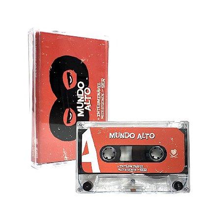 """Mundo Alto """"A Interminável Necessidade De Ser"""" Cassete Translúcido"""