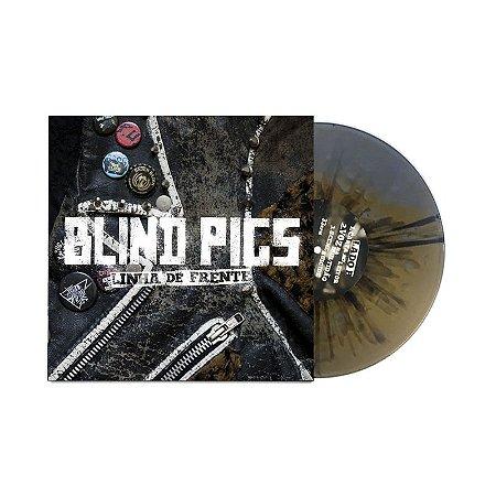 """Blind Pigs """"Linha de Frente"""" Vinil 10"""" Dourado/Prateado"""