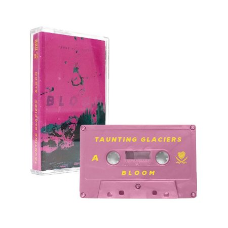 "Taunting Glaciers ""Bloom"" Cassete Rosa"