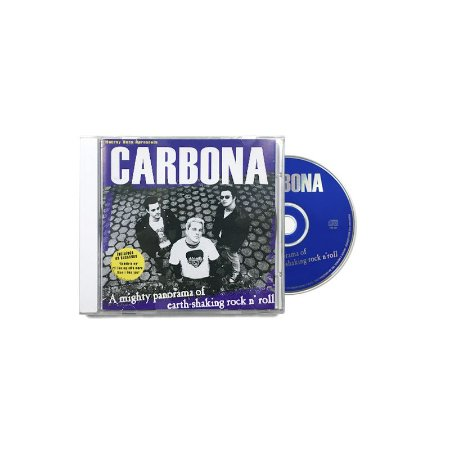 """Carbona """"A Mighty Panorama Of Earth-Shaking Rock N' Roll"""" CD"""