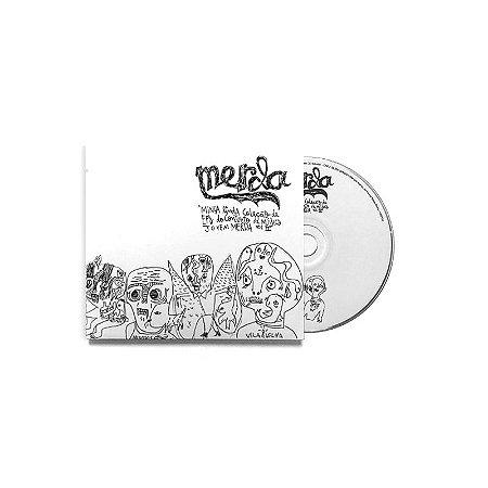"""Merda """"Minha Linda Coleção de EPs do Conjunto de Música Merda Vol.II"""" CD Digipack"""