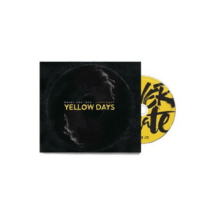 "Never Too Late ""Yellow Days"" CD Digifile"