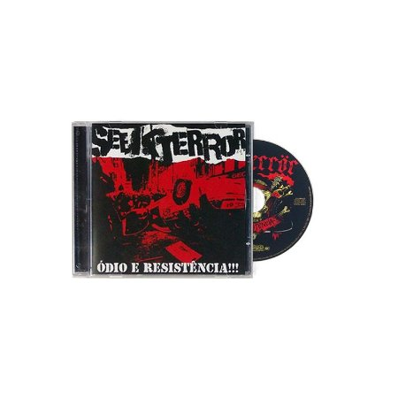 """Seek Terror """"Ódio E Resistência!!!"""" CD"""