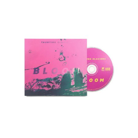 "Taunting Glaciers ""Bloom"" CD Digipack"