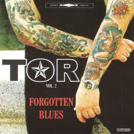 """Tor Tauil """"Forgotten Blues"""" CD"""