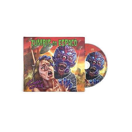 """Zumbis do Espaço """"Nós Viemos Em Paz"""" CD Digipack"""