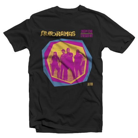 "Autoramas ""Trashman"" Camiseta Preta"