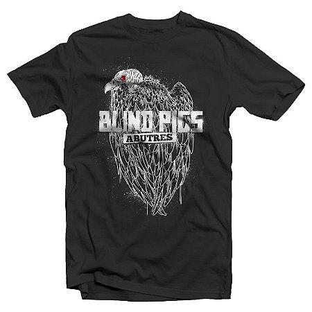 """Blind Pigs """"Abutres"""" Camiseta Preta"""