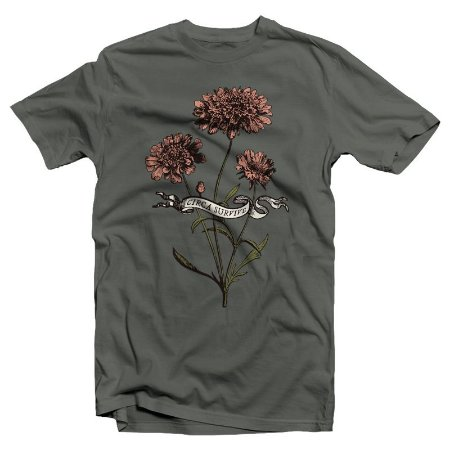 "Circa Survive ""Flower"" Camiseta Chumbo"