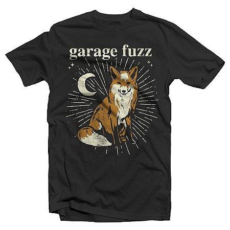 """Garage Fuzz """"Raposa"""" Camiseta Preta"""