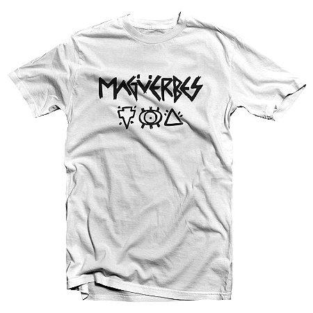 """Magüerbes """"Ritual"""" Camiseta Branca"""