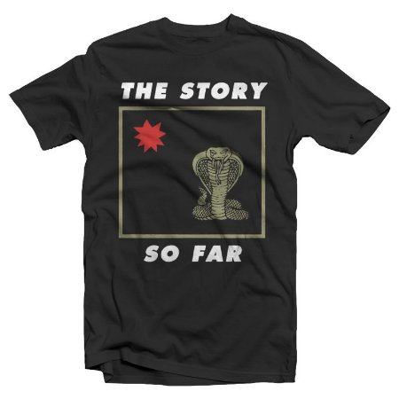 "The Story So Far ""Snake"" Camiseta Preta"