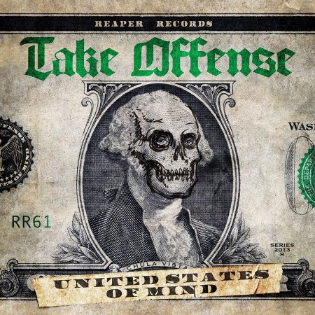 """Take Offense """"United States of Mind"""" CD Digifile"""