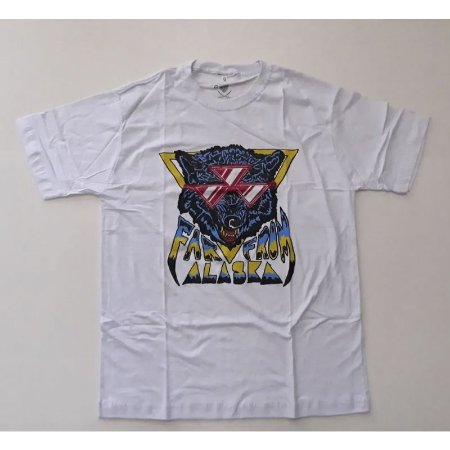 "Far From Alaska ""Lobo"" Camiseta Branca"