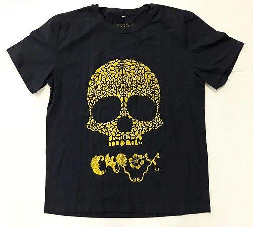 "Carox ""Caveira"" Camiseta Azul"